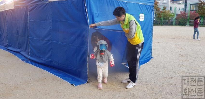 [크기변환]4. 대덕구자원봉사센터, 가족과 함께하는 재난구호소 체험캠프 열어(1).jpg